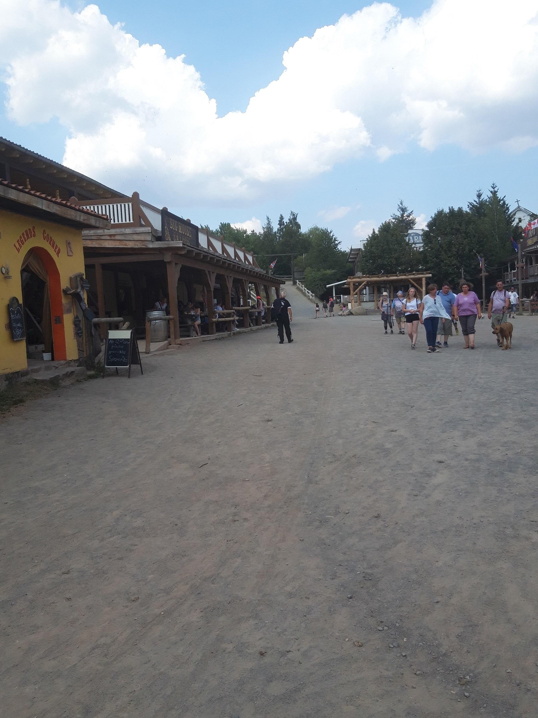 Die Mainstreet in Pullman City Harz