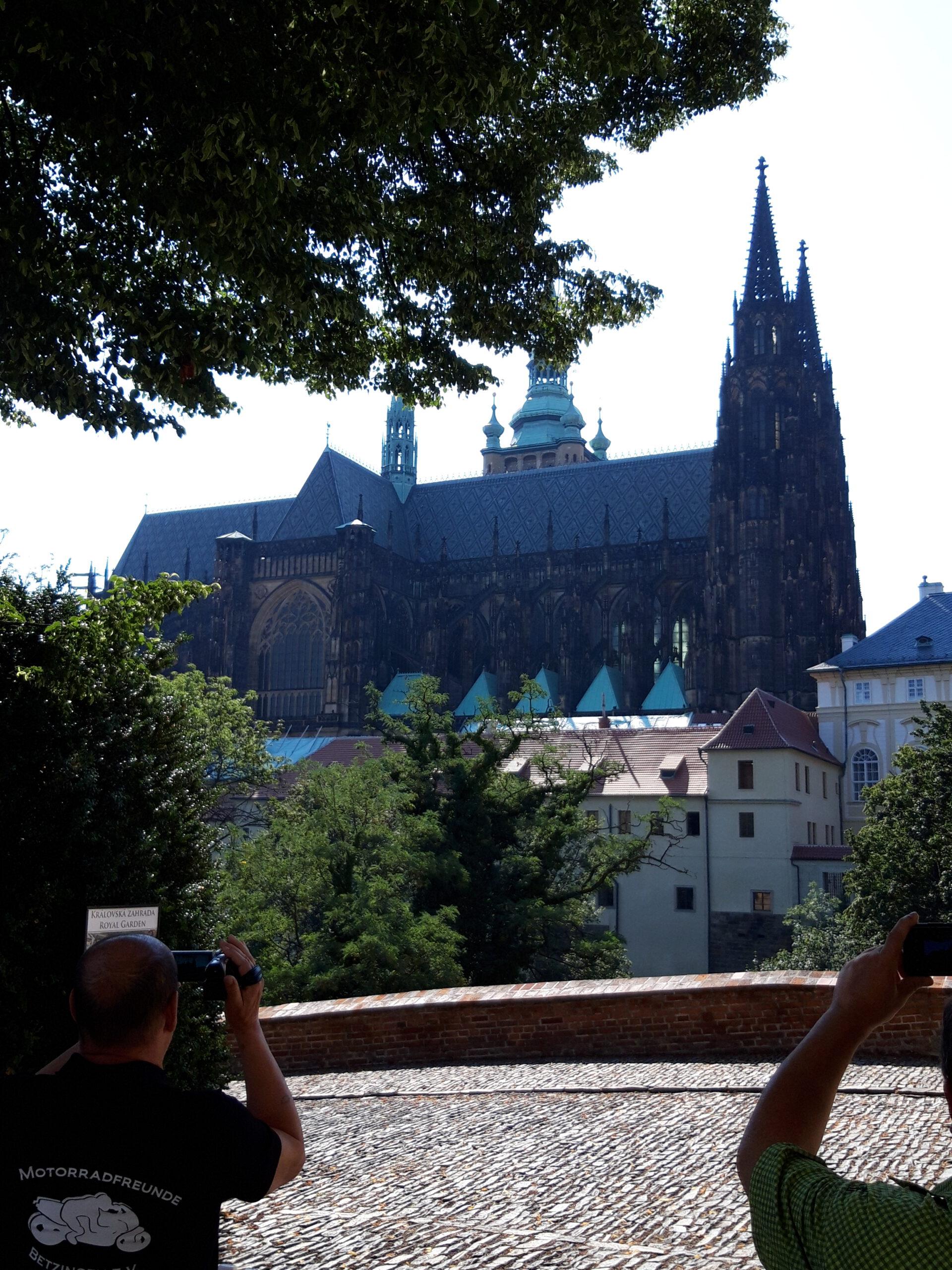 Die Karlsburg zu Prag
