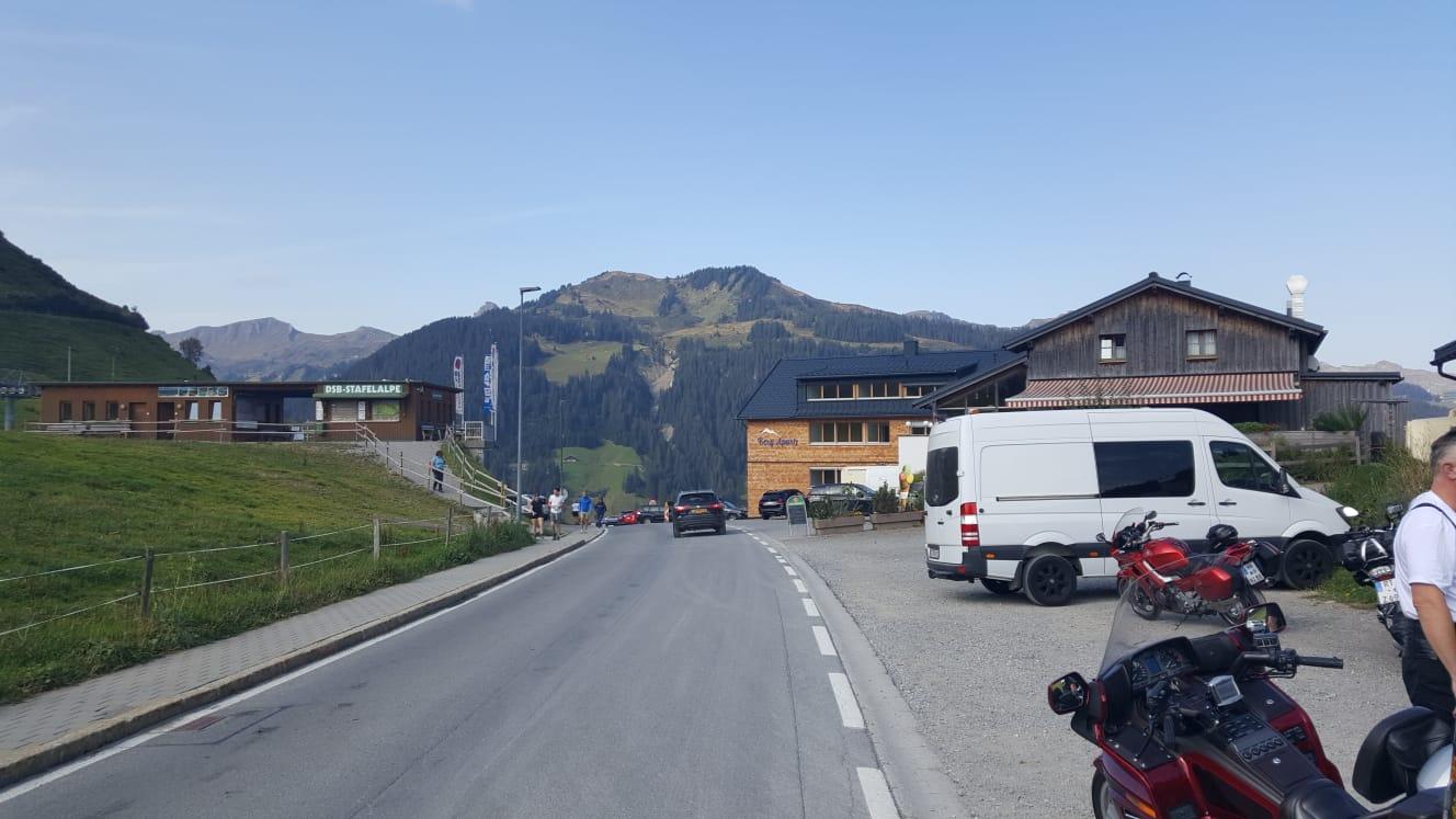 Passhöhe vom Faschina 1500m ü. NN.