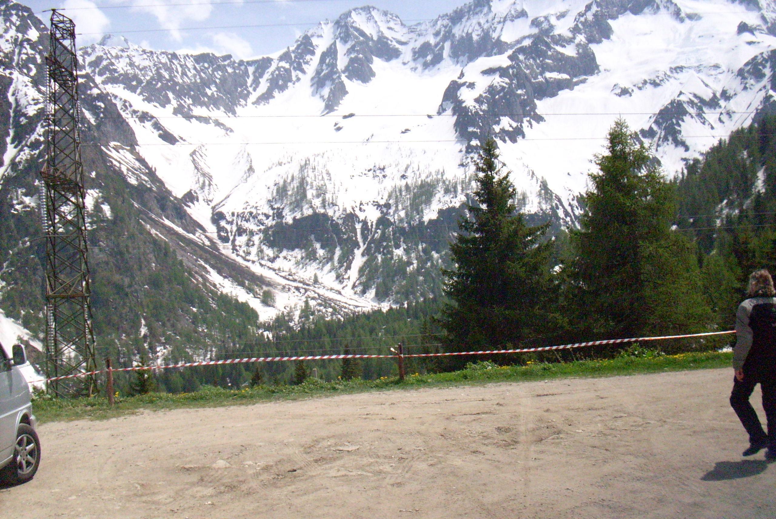 Blick auf den Bernina