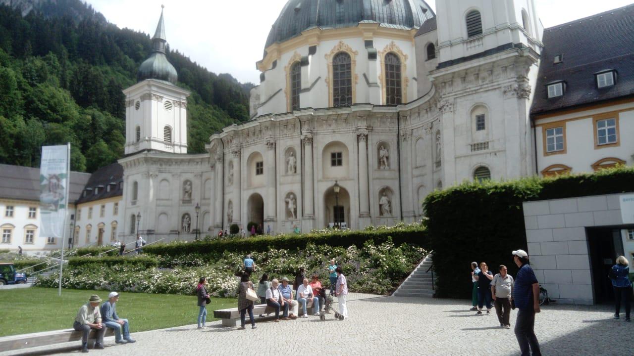Aufgang zur Klosterkirche