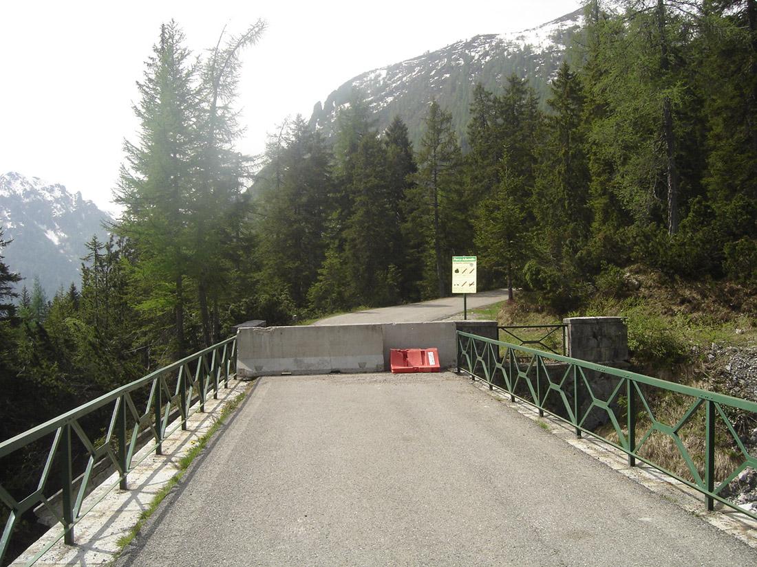 Am Ende der Paßstrasse