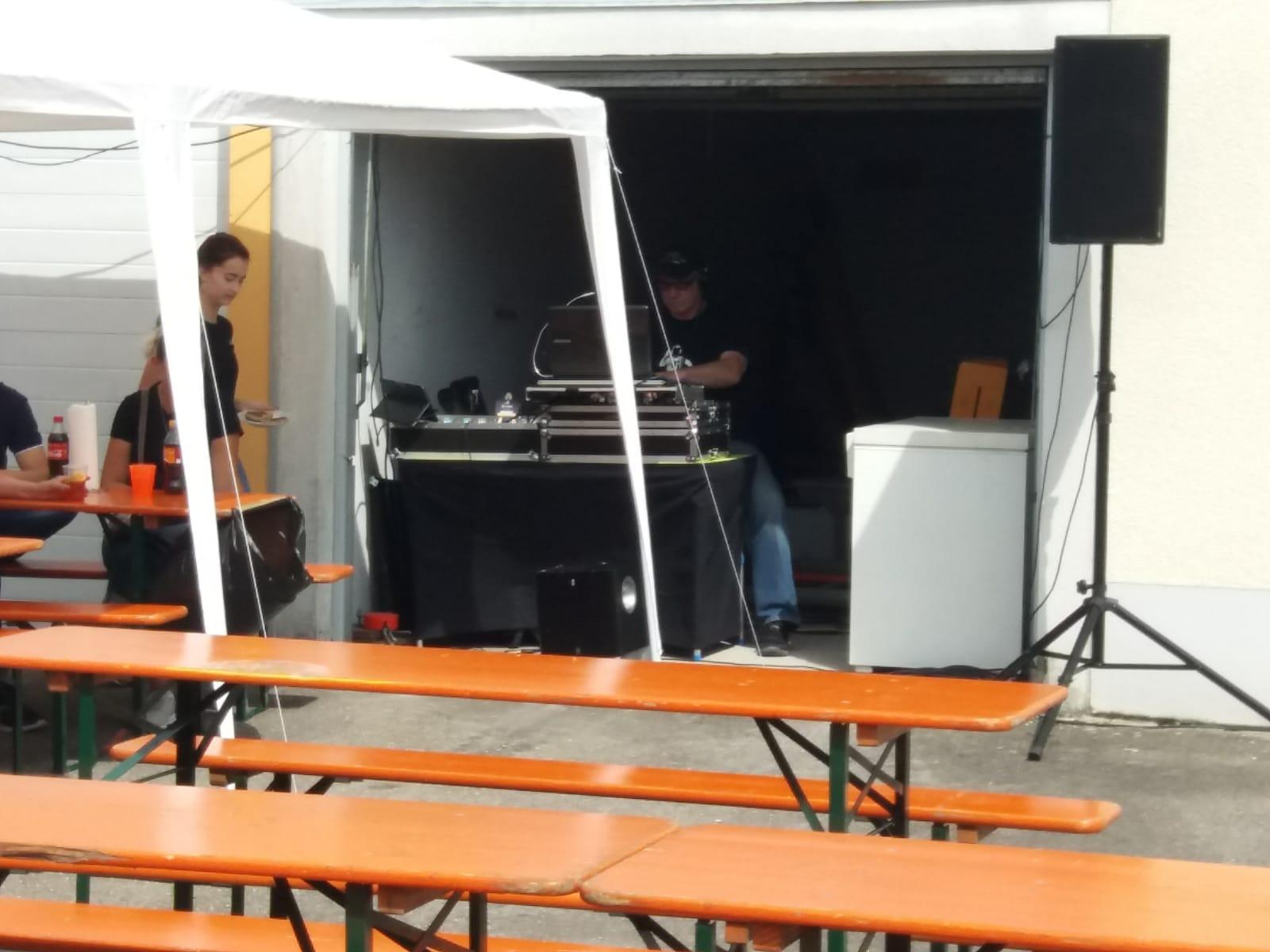 unser DJ Uwe