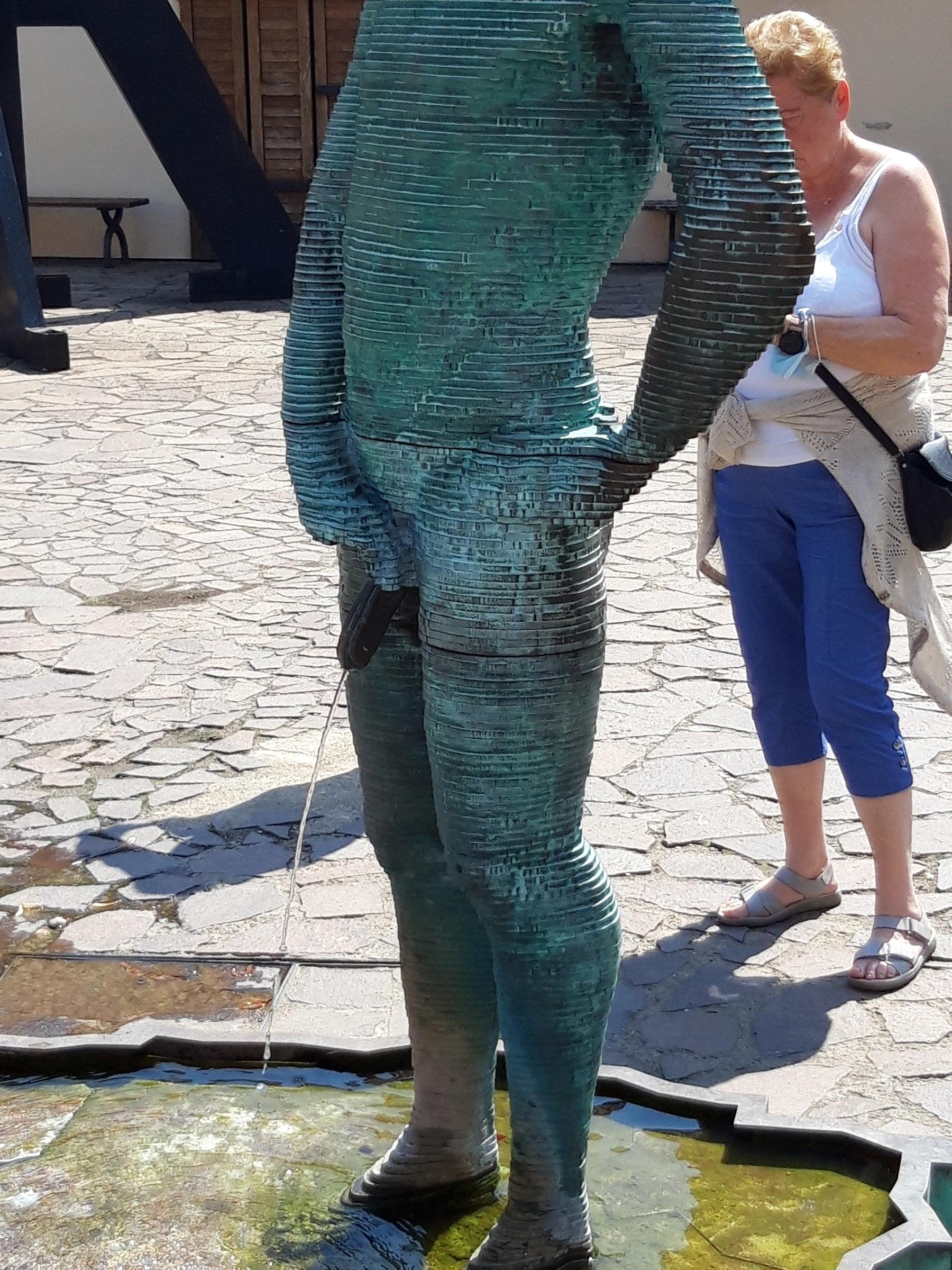 Menneken Pis in Prag