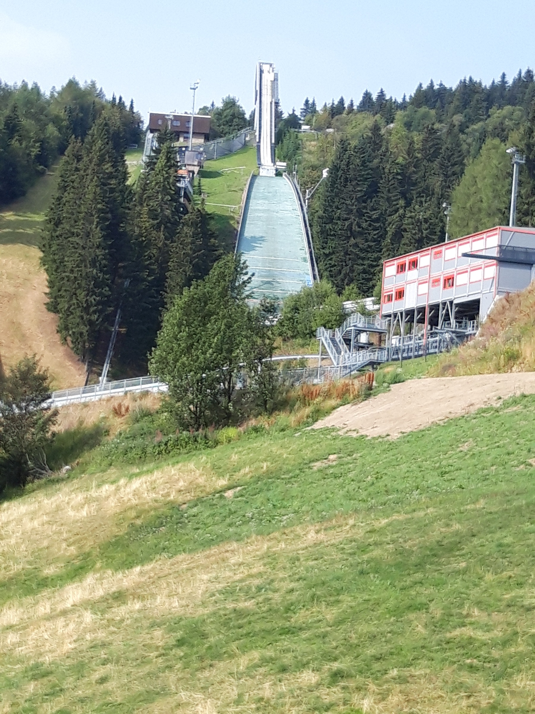 Ski Sprunganlage Fichtelberg