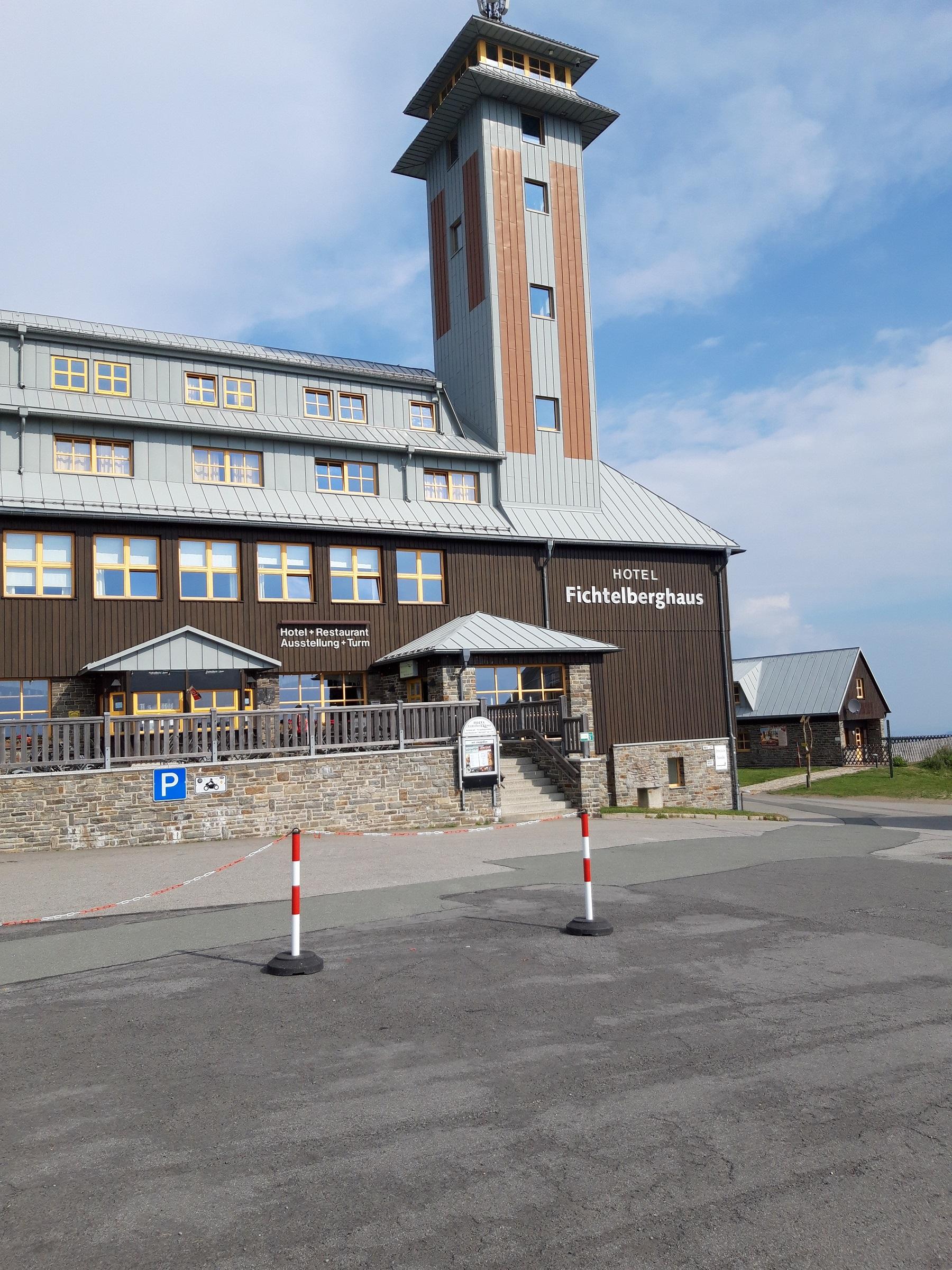 Hotel auf dem Fichtelberg