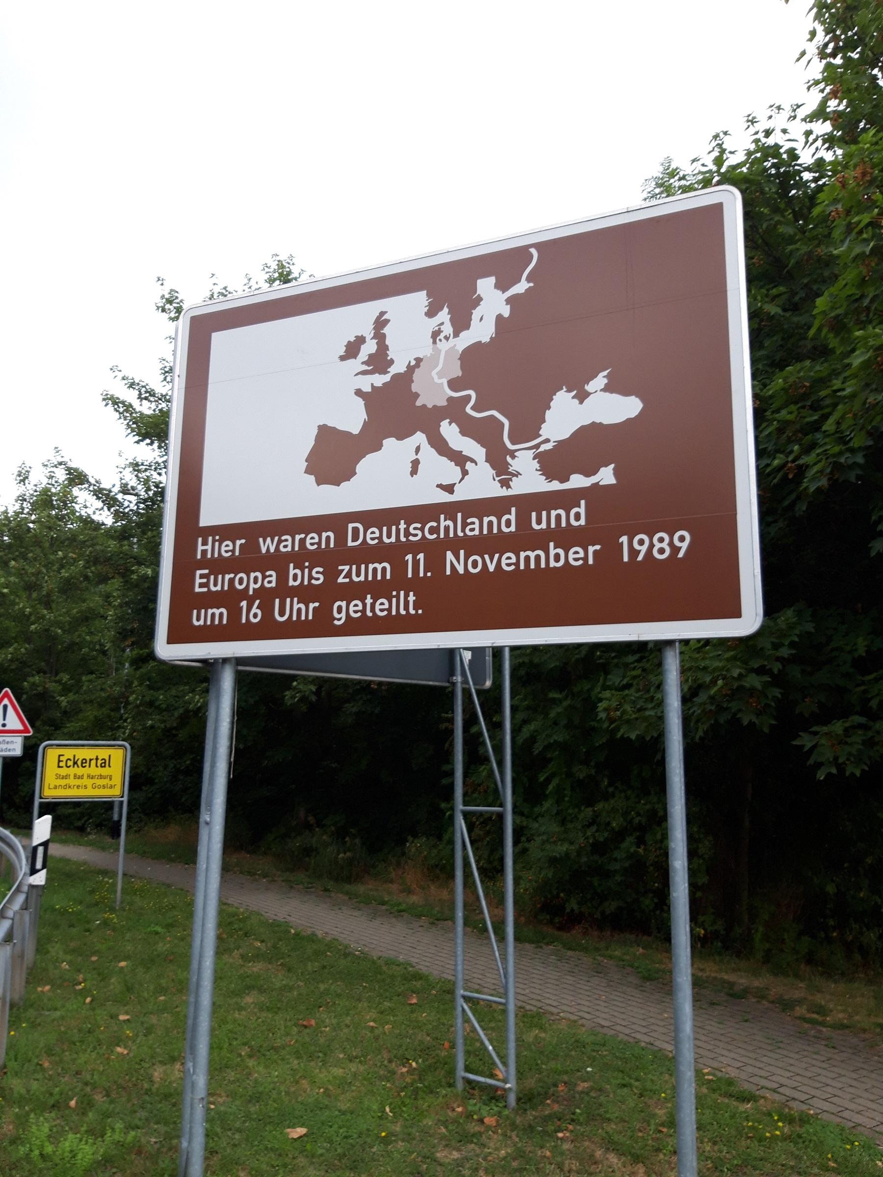 Innerdeutsche Grenze bei Stabelburg